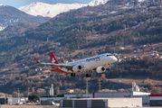 HB-JVR - Helvetic Airways Embraer ERJ-190 (190-100) aircraft