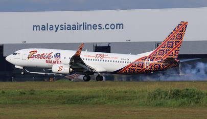 9M-LCK - Malindo Air Boeing 737-800