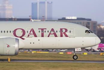 A7-BCX - Qatar Airways Boeing 787-8 Dreamliner