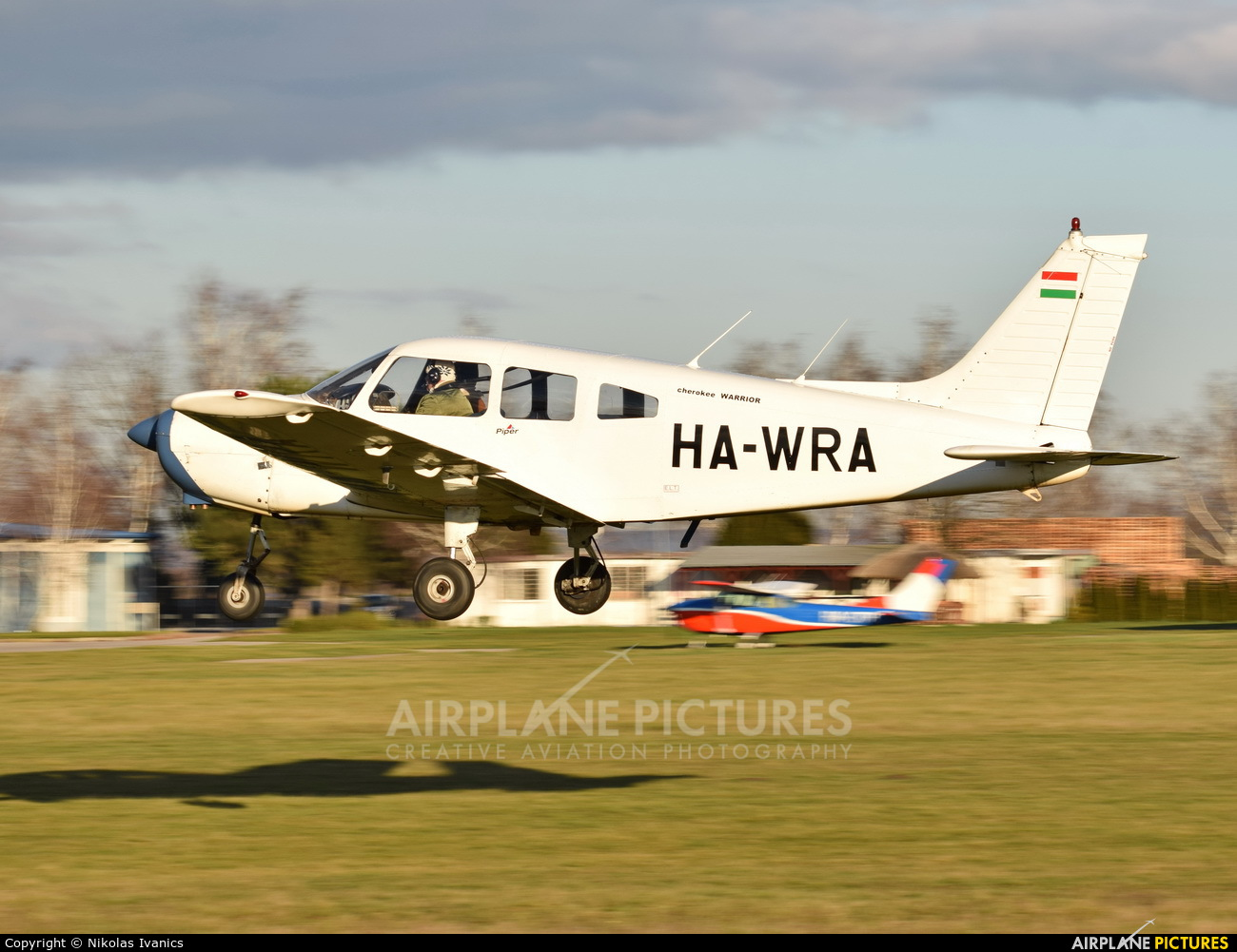 Private HA-WRA aircraft at Nové Zámky