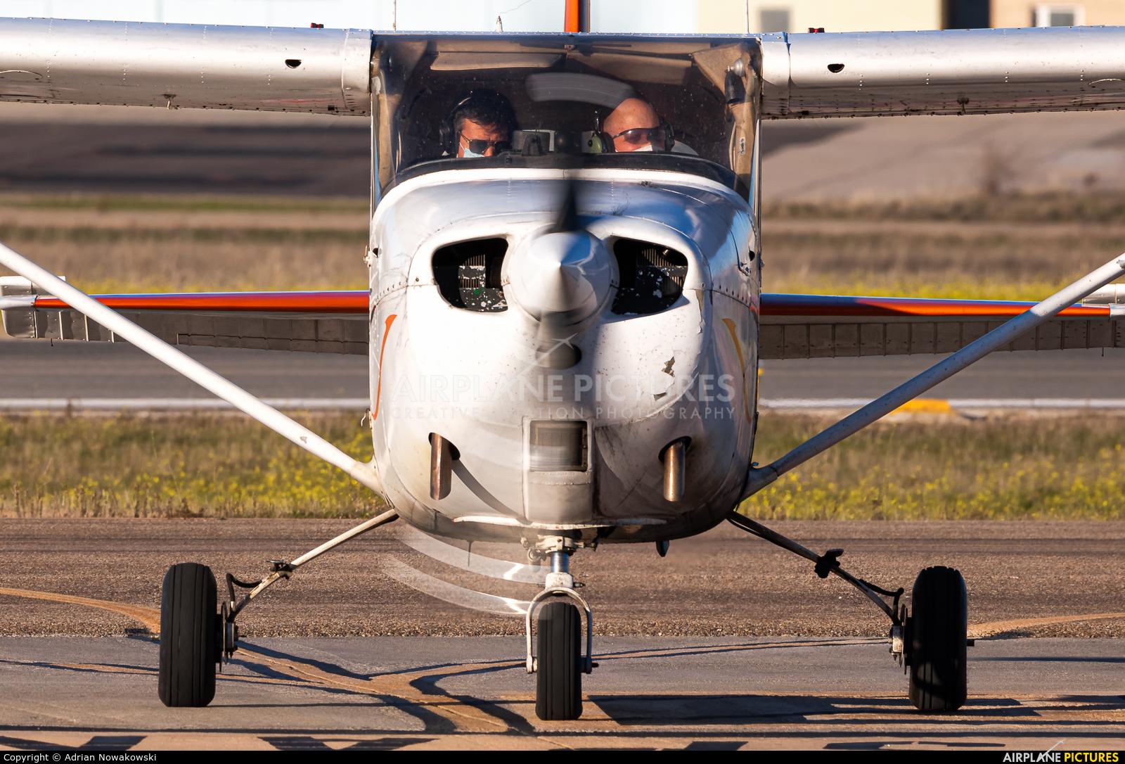 Aerofan EC-DIC aircraft at Madrid - Cuatro Vientos