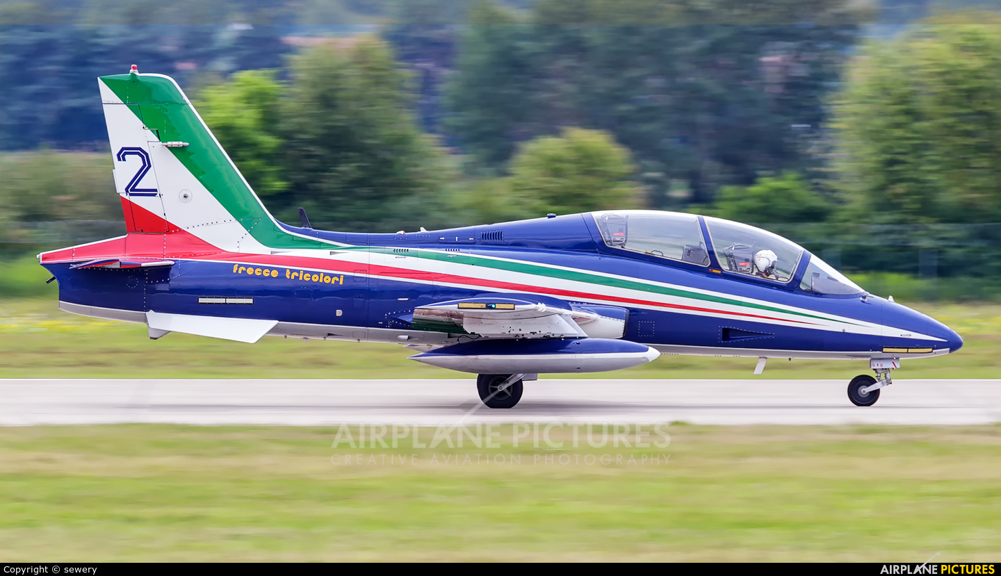 """Italy - Air Force """"Frecce Tricolori"""" MM55056 aircraft at Sliač"""