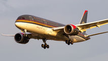 JY-BAG - Royal Jordanian Boeing 787-8 Dreamliner aircraft