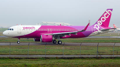 F-WWDS - Peach Air Airbus A320