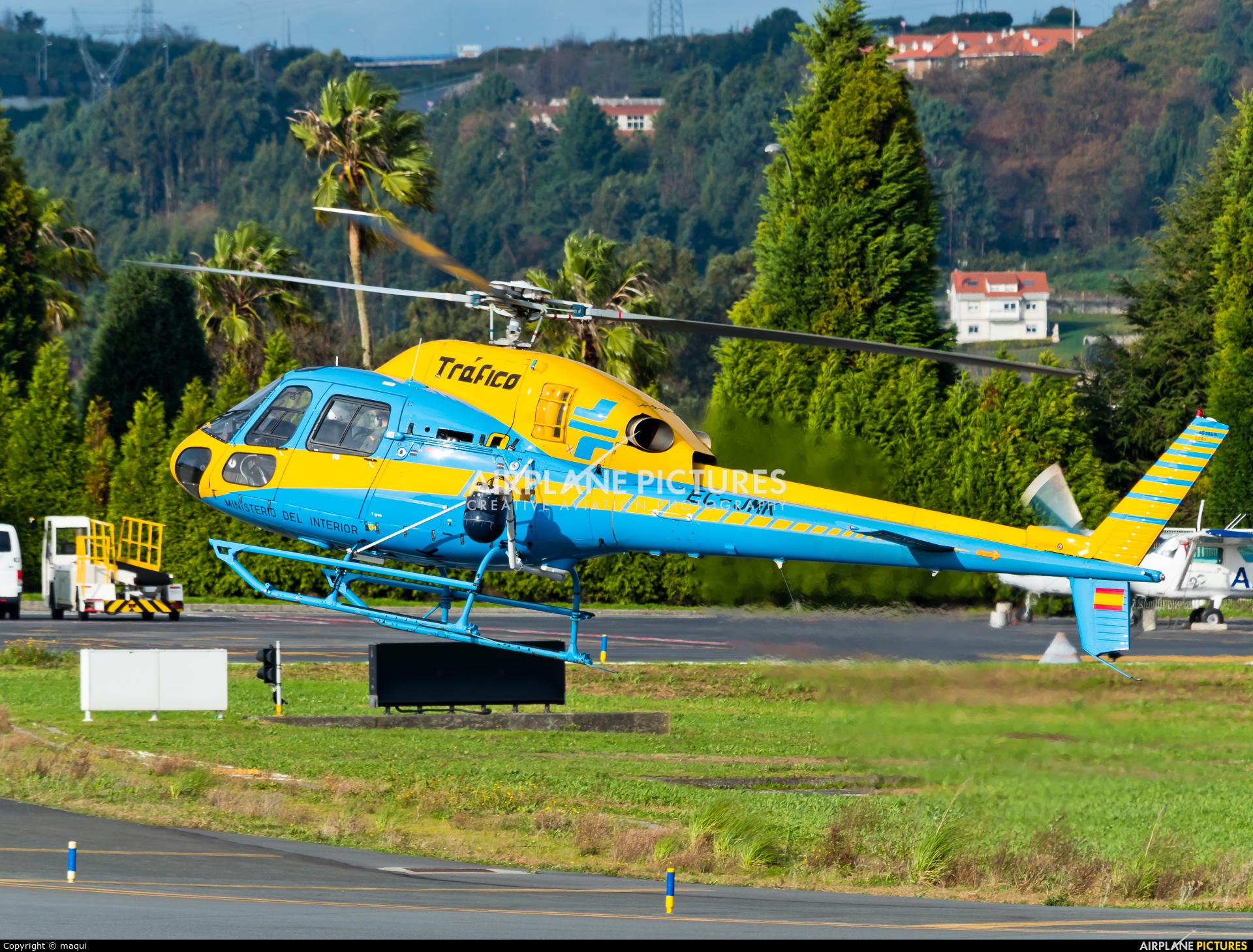 Spain - Government EC-JMK aircraft at La Coruña