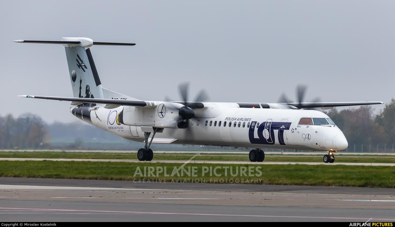 LOT - Polish Airlines SP-EQK aircraft at Ostrava Mošnov