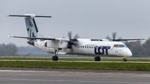 SP-EQK - LOT - Polish Airlines de Havilland Canada DHC-8-402Q Dash 8 aircraft
