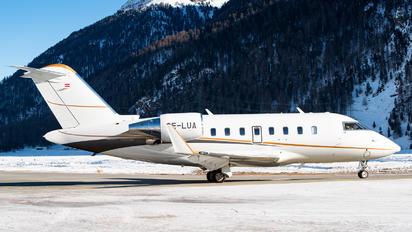 OE-LUA - International Jet Management Bombardier Challenger 650