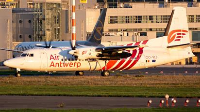OO-VLS - Air Antwerp Fokker 50