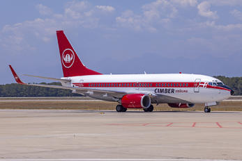 OY-MRU - Cimber Sterling Boeing 737-700