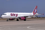 TC-SKT - Sky Airlines (Turkey) Airbus A320 aircraft