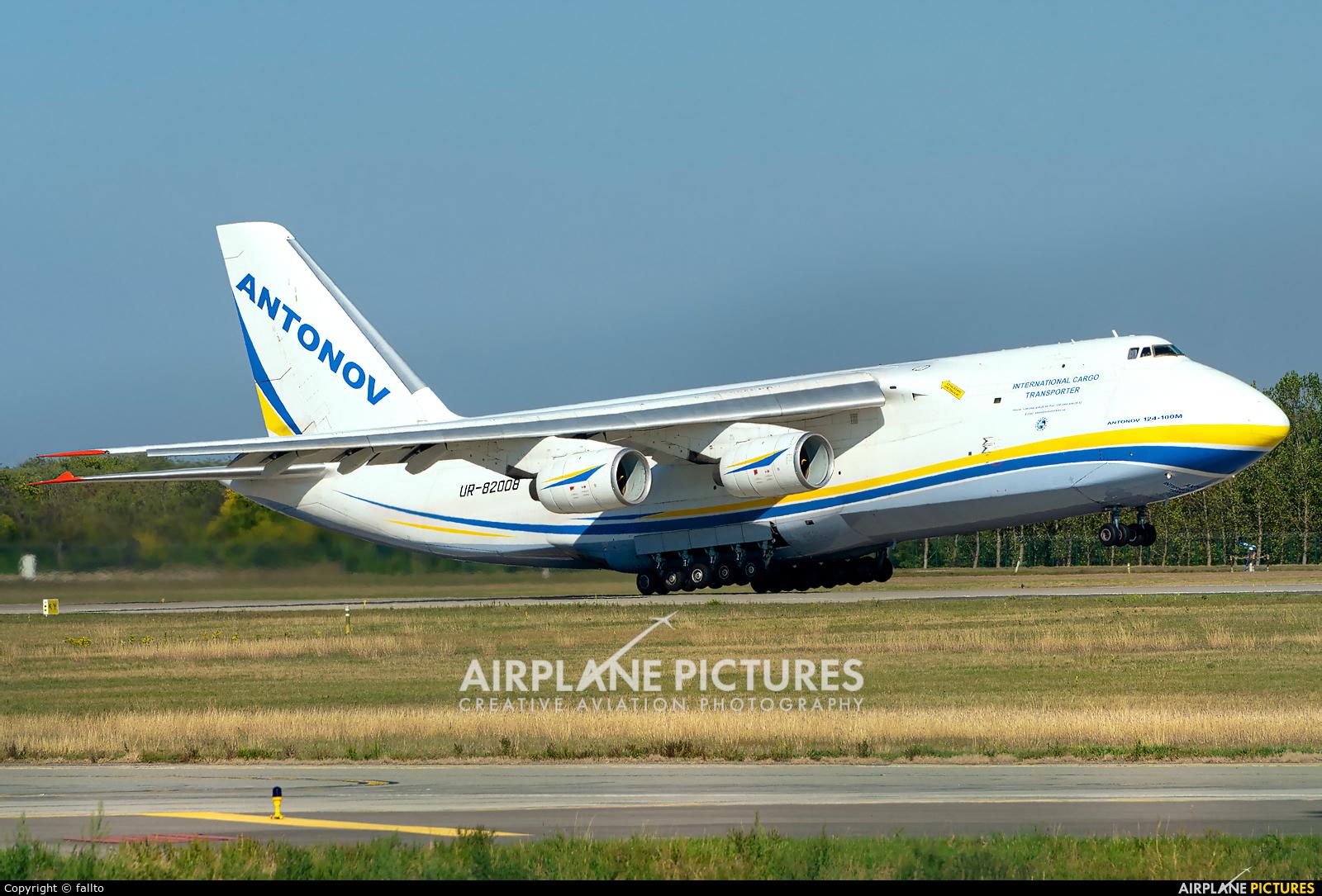 Antonov Airlines /  Design Bureau UR-82008 aircraft at Budapest Ferenc Liszt International Airport