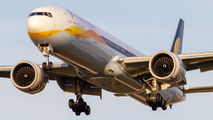VT-JEQ - Jet Airways Boeing 777-300ER aircraft