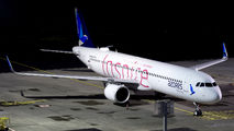 """Azores A321neo wears """"Inspire"""" special paint title="""