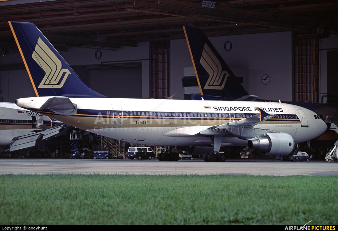 Singapore Airlines 9V-STR aircraft at Singapore - Changi