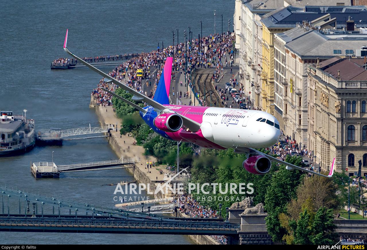 Wizz Air HA-LTA aircraft at Off Airport - Hungary