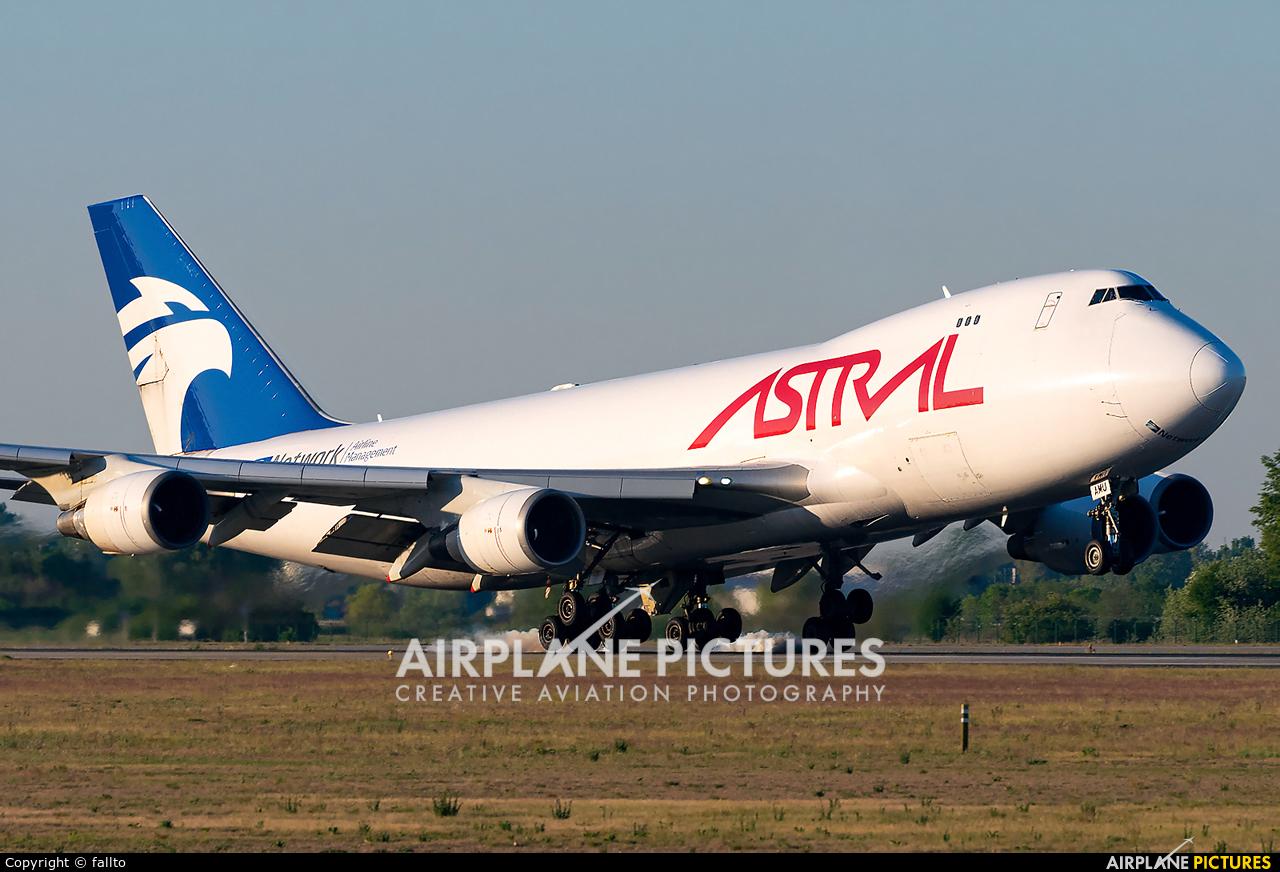 Astral Aviation TF-AMU aircraft at Budapest Ferenc Liszt International Airport