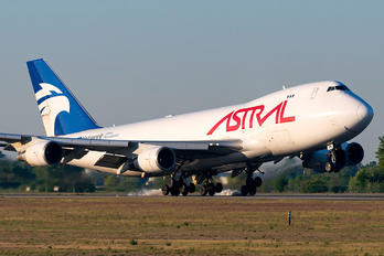 TF-AMU - Astral Aviation Boeing 747-400F, ERF