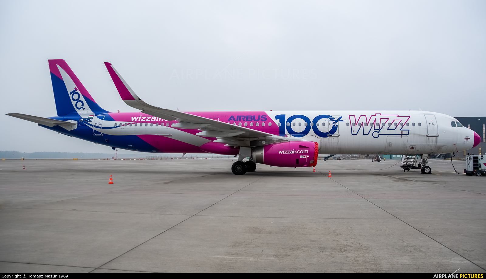 Wizz Air HA-LTD aircraft at Katowice - Pyrzowice