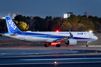 JA139A - ANA - All Nippon Airways Airbus A321 NEO