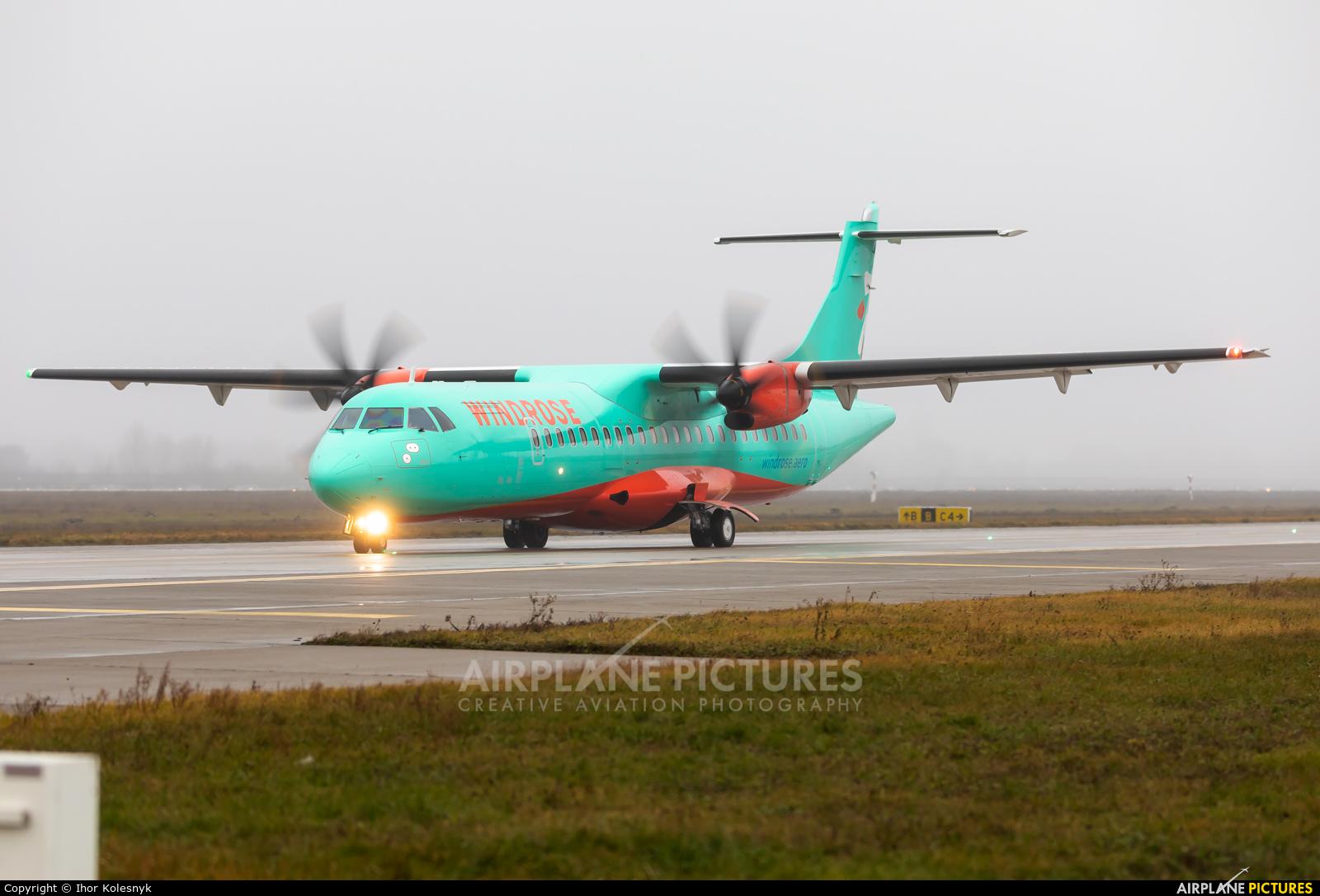 Windrose Air UR-RWD aircraft at Kyiv - Borispol