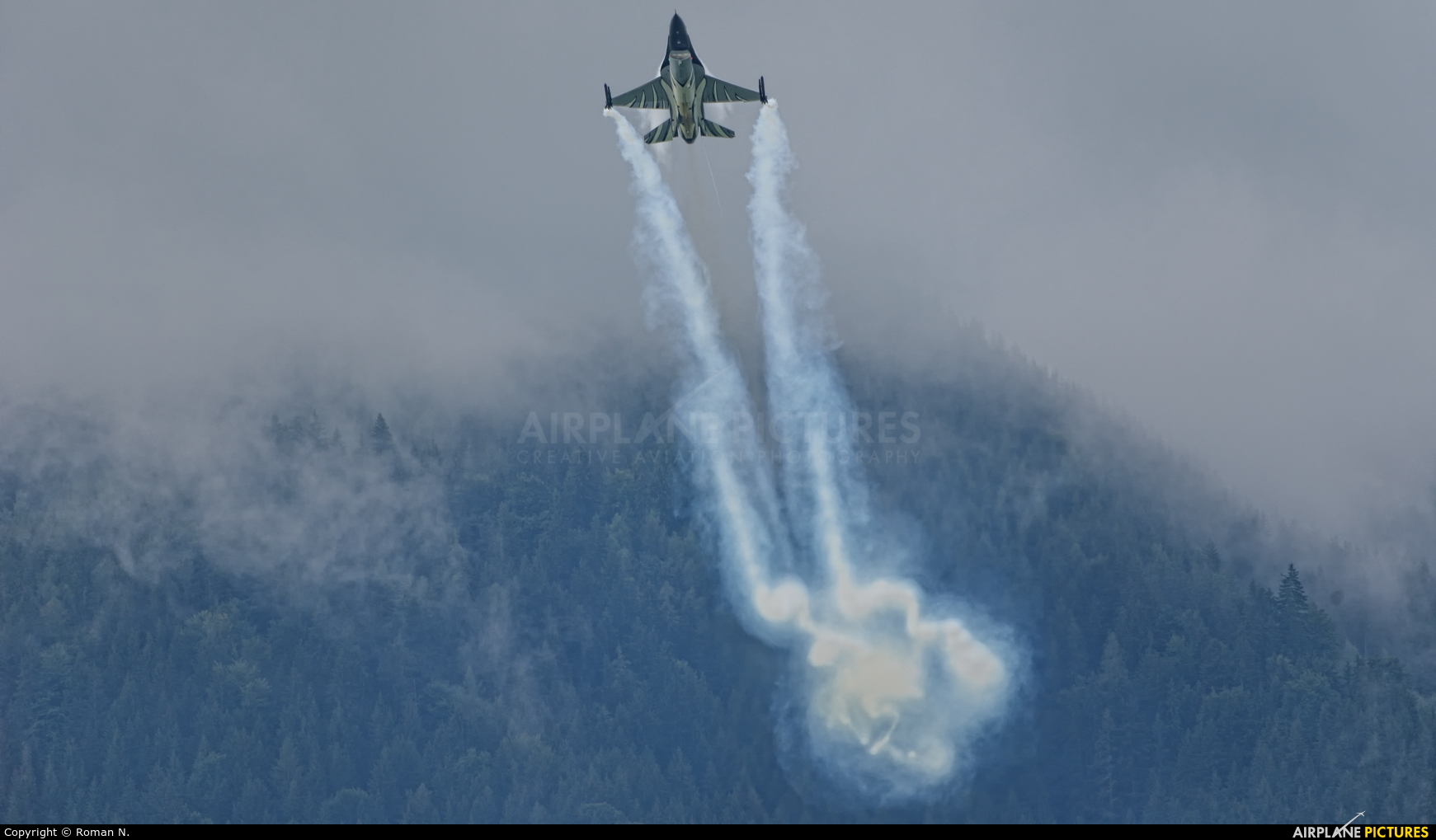 Belgium - Air Force FA-101 aircraft at Zeltweg