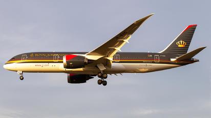 JY-BAG - Royal Jordanian Boeing 787-8 Dreamliner