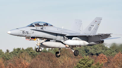 15-75 - Spain - Air Force McDonnell Douglas CF-188B Hornet