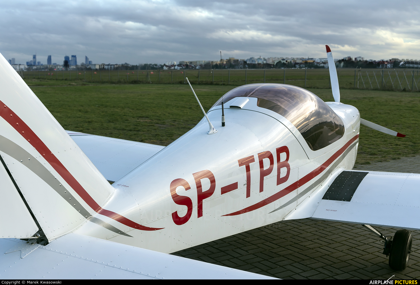 Private SP-TPB aircraft at Warsaw - Babice