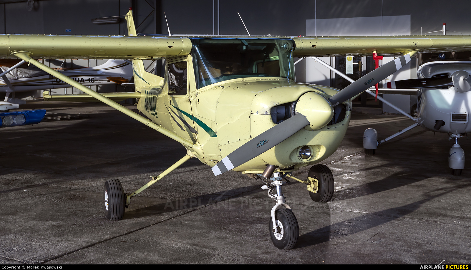 Private SP-MAI aircraft at Warsaw - Babice