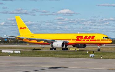 G-DHKE - DHL Cargo Boeing 757-200F