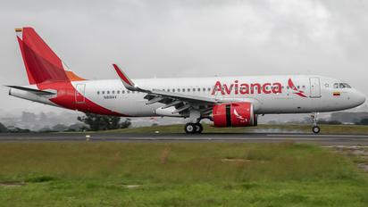 N818AV - Avianca Airbus A320 NEO