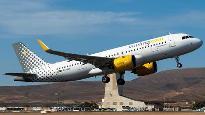 EC-NCF - Vueling Airlines Airbus A320 NEO