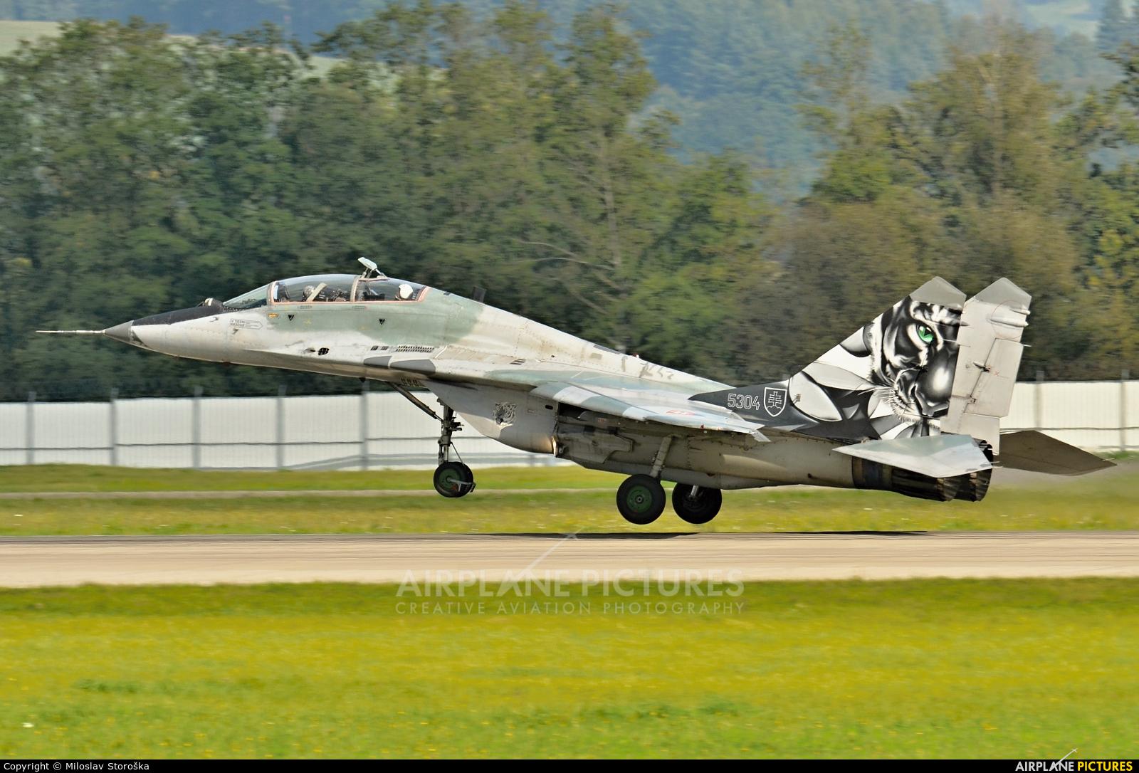 Slovakia -  Air Force 5304 aircraft at Sliač