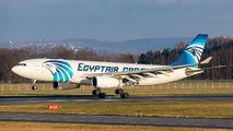 SU-GCF - Egyptair Cargo Airbus A330-200 aircraft