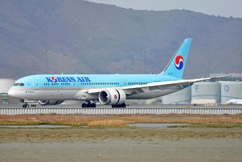 HL7207 - Korean Air Boeing 787-9 Dreamliner
