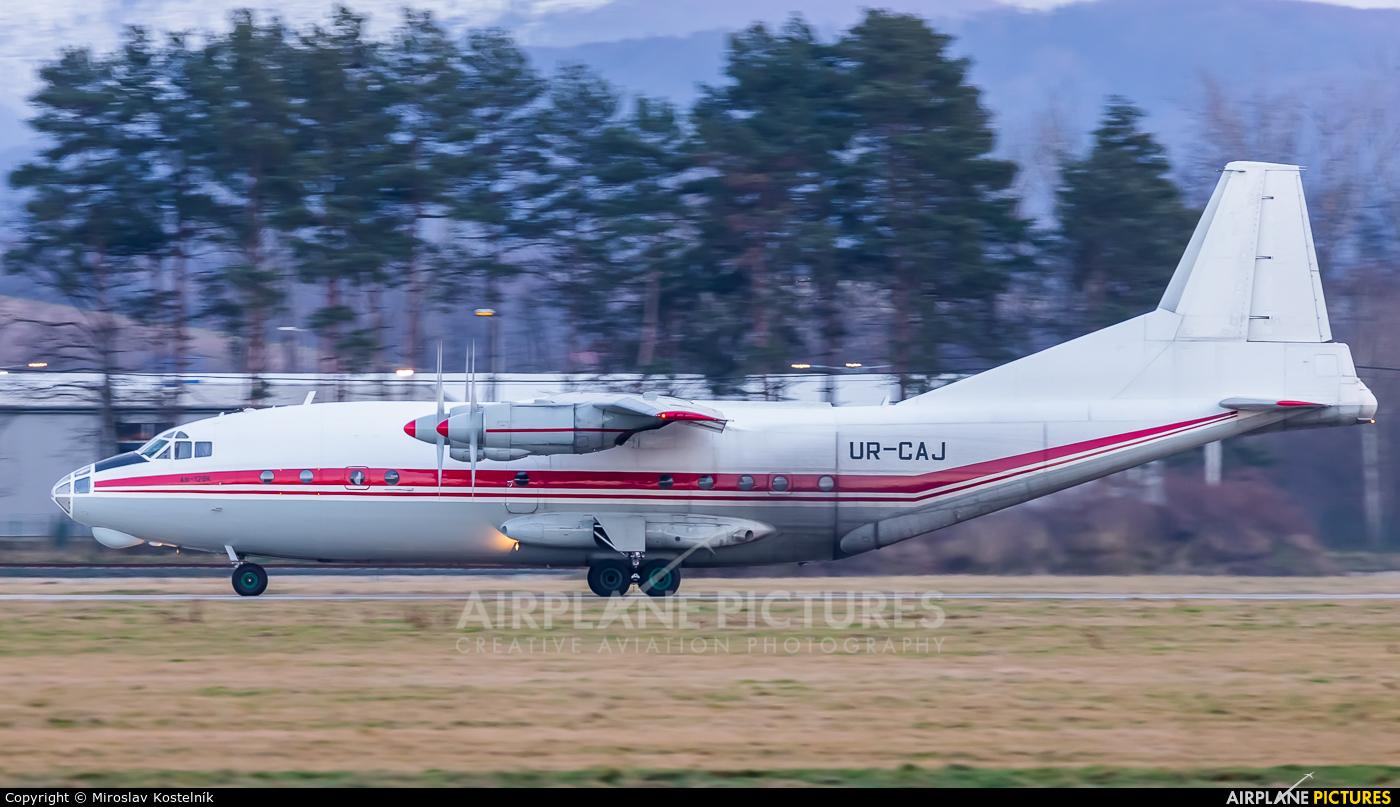 Meridian Aviation UR-CAJ aircraft at Ostrava Mošnov