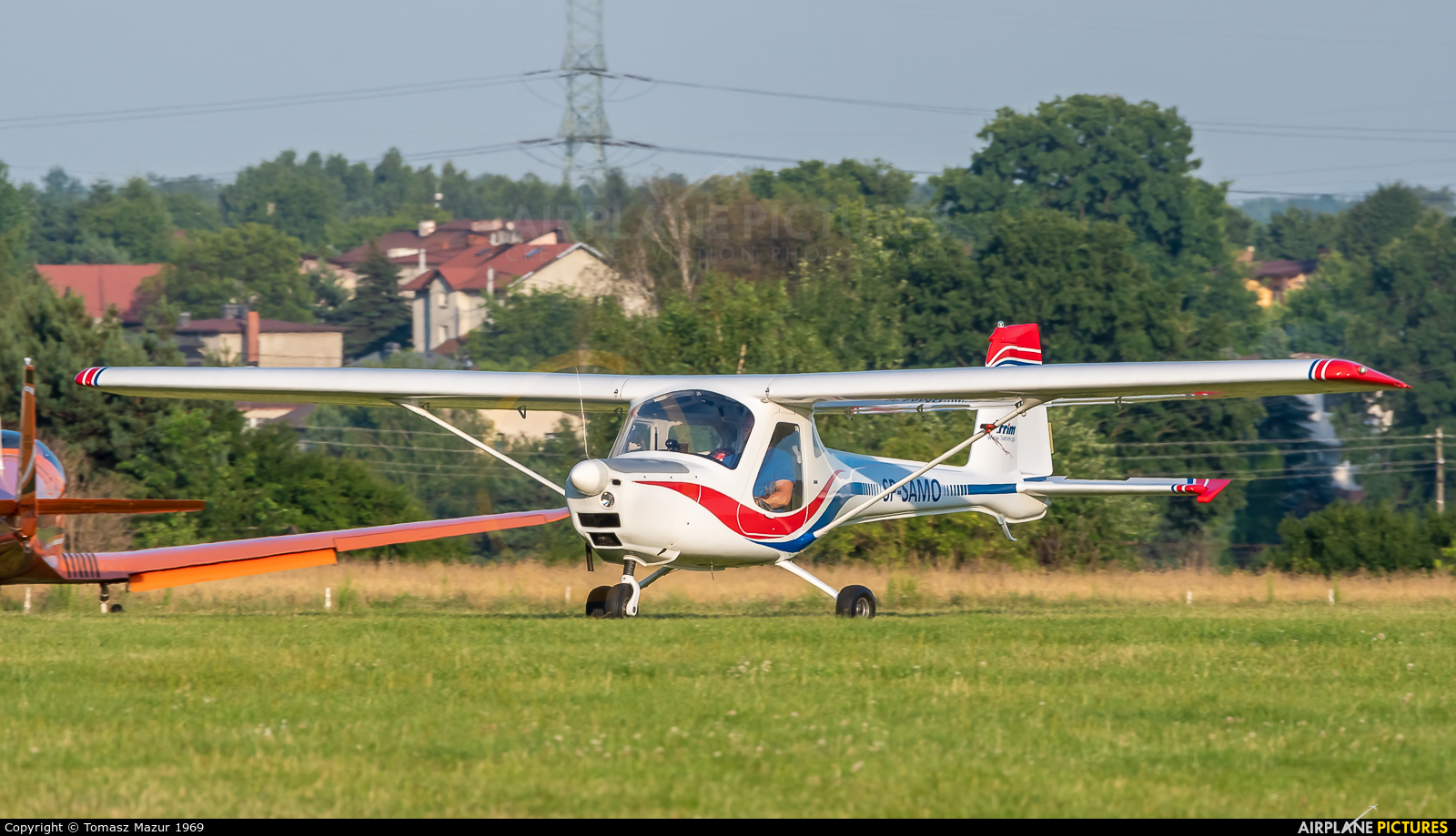 Private SP-SAMO aircraft at Rybnik - Gotartowice