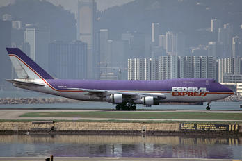 N631FE - FedEx Federal Express Boeing 747-200F