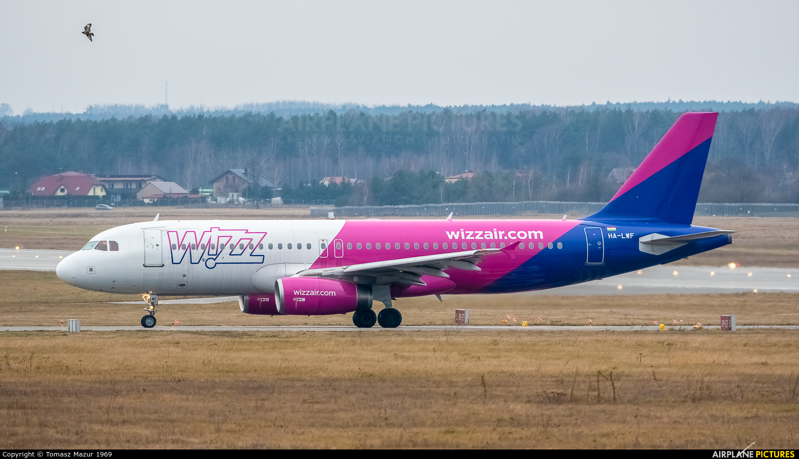 Wizz Air HA-LWF aircraft at Katowice - Pyrzowice