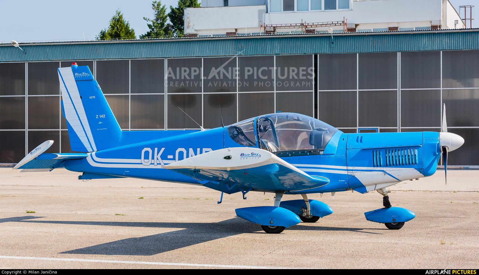 Blue Sky Service OK-ONP aircraft at Nitra