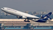 Lufthansa Cargo replaces MD11 with 777F in Mumbai title=