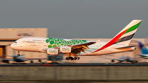 A6-EOL - Emirates Airlines Airbus A380 aircraft