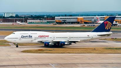 SU-GAM - Egyptair Boeing 747-300