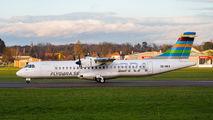 Rare visit of BRA Sweden ATR72 to St. Gallen title=