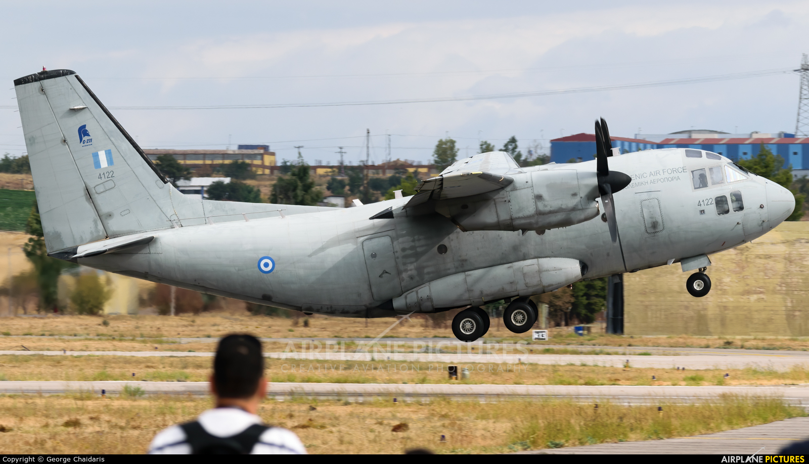 Greece - Hellenic Air Force 4122 aircraft at Tanagra