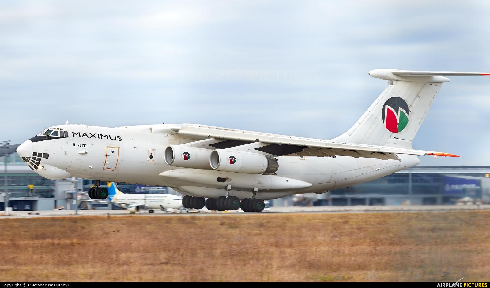 Maximus Air Cargo UR-BXQ aircraft at Kyiv - Borispol