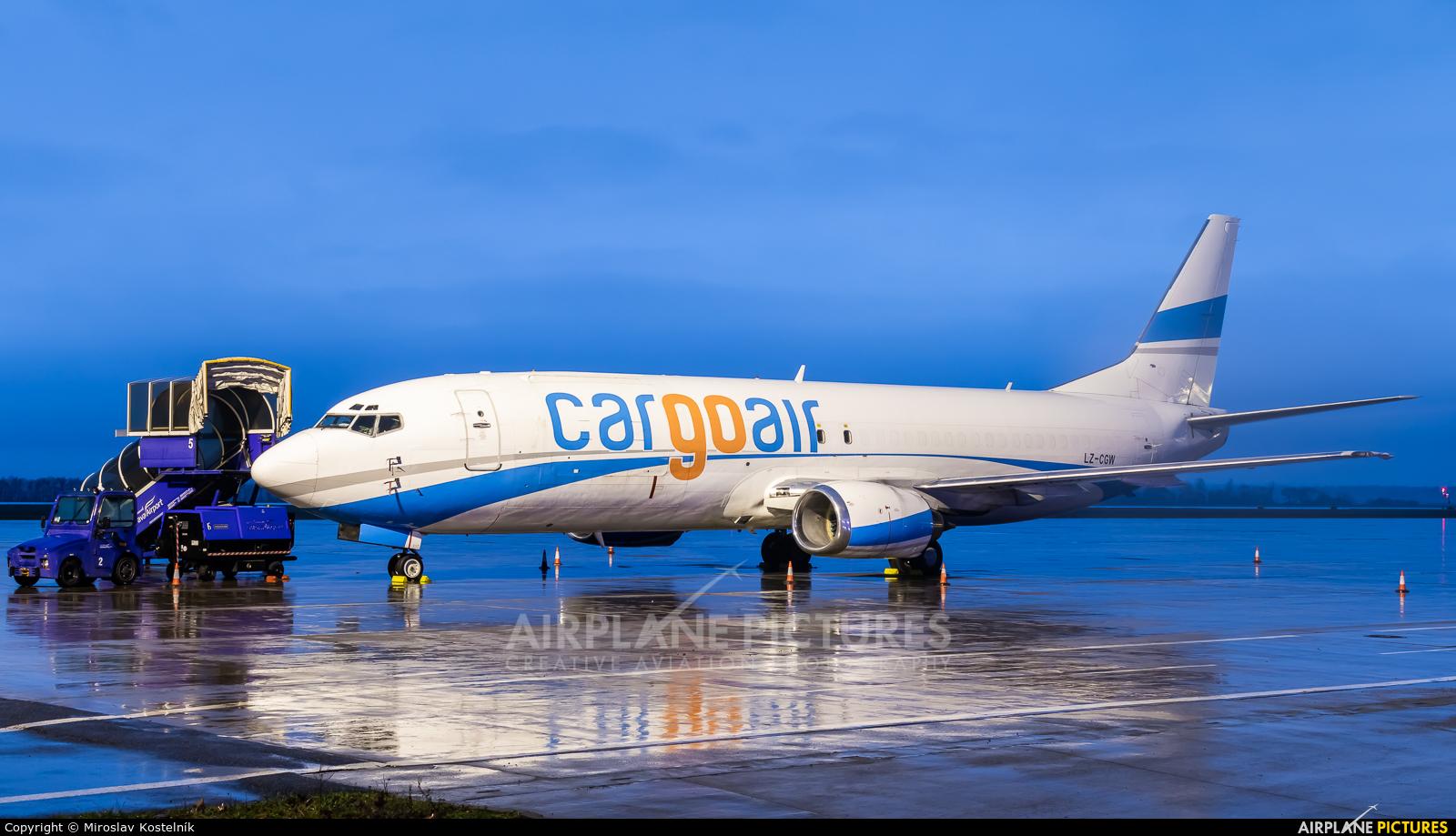 Cargo Air LZ-CGW aircraft at Ostrava Mošnov