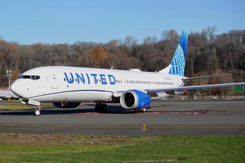 N27519 - United Airlines Boeing 737-9 MAX