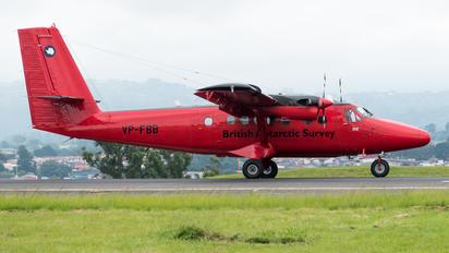 VP-FBB - British Antarctic Survey de Havilland Canada DHC-6 Twin Otter
